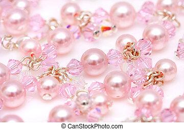 粉紅色, 小珠