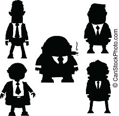 Cartoon Businessmen