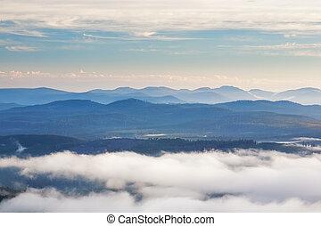 Hartz Mountains National Park, Tasmania - Dawn on the...