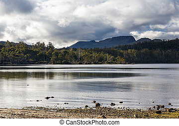 Lake St Clair Tasmania - Lake Saint Clair in Cradle Mountain...