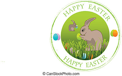 Stamp Happy easter