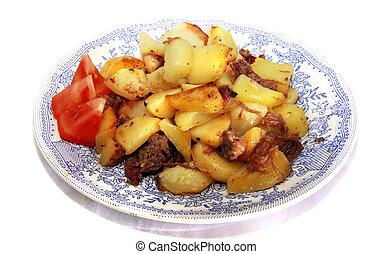fry potato