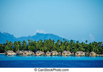 Overwater bungalows - Luxury overwater bungalows with view...