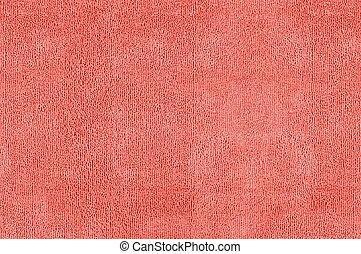 Red microfiber texture