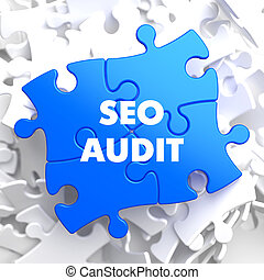 SEO Audit on Blue Puzzle. - SEO Audit on Blue Puzzle on...