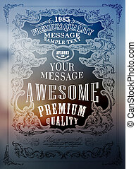 Premium Quality, Guarantee typography design an be used for...