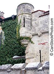 castle - old castle in Lichtenstein in germany, europe