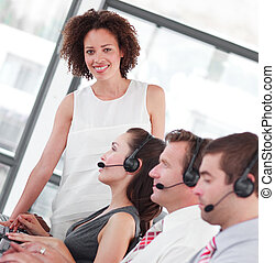 Business call centre - Working in a Business call centre