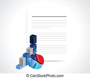 business documents illustration