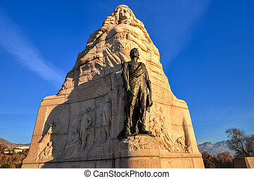 Mormon Battalion Monument, Salt Lake City, Utah - The Utah...
