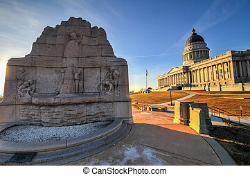 State Capitol Building, Utah - The Utah State Capital...