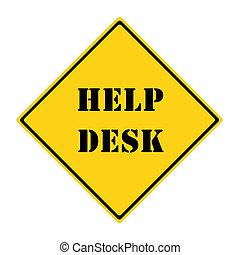 Help Desk Sign