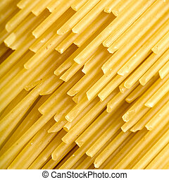 Spaghetti - Close up of the background Spaghetti