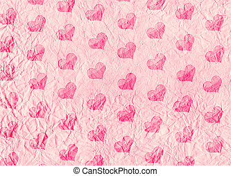 Valentine background - Decorative grunge valentine...