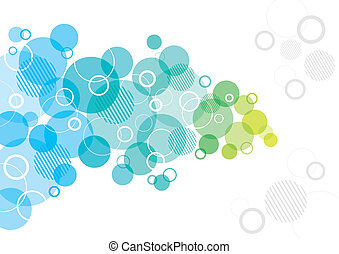 Abstract Design with circles - An abstract background design...