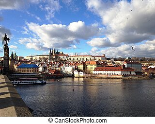Praga in the morning