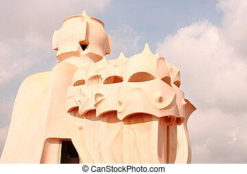 Gaudi, edificio