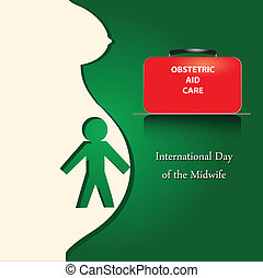 International Day of the Midwife - Poster for the...