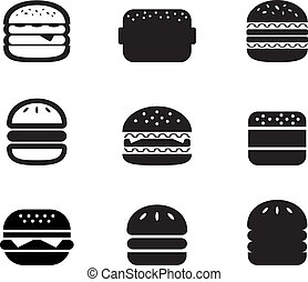 Hamburger Icon set for your design