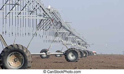 center pivot sprinkler system agriculture industry