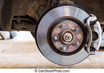 Car brakes system  - Car brakes system