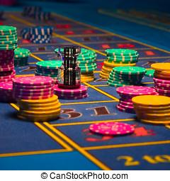 ruletka, hazard, drzazgi
