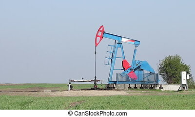 oil pump jack work
