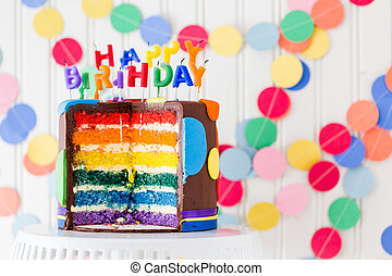 Birthday party - Colorful sweets for kids birthday party...