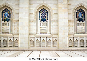 Windows Grand Sultan Qaboos Mosque - Windows of Grand Sultan...