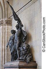 Sculpture in Munich