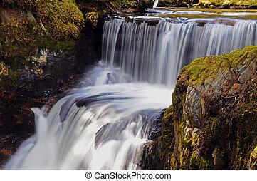 water fall, juneau alska