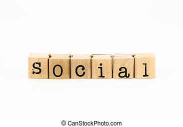 social wording, community and organization concept - closeup...