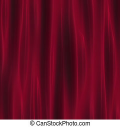 crimson curtain drapery for theatre