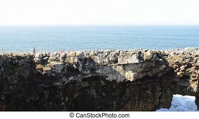 Cliffs at Cascais, Portugal - View of cliffs at Cascais,...