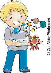 Best School Project Boy