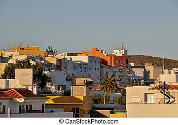 Colonial Buildings in Tenerife Canary Islands Spain