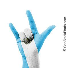 mano, Elaboración, yo, amor, usted, señal,...