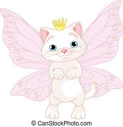 Cute Fairy Cat