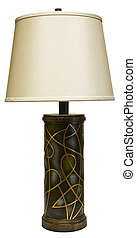 Table Lamp with Shade - Contemporary Style Table Lamp with...