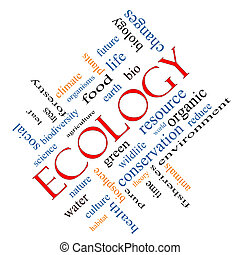 angular, concepto, ecología, nube, palabra