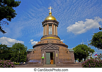 small church in st/ petersburg