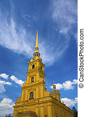 cathedral of saints paul and peter in st. petersburg