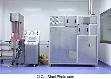 industrial equipment - Industrial machinery in a laboratory