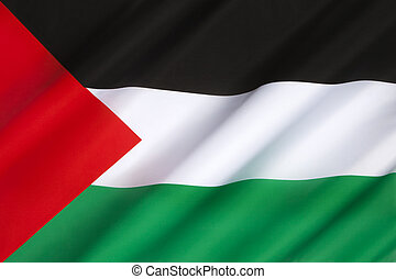 Flag of Palestine - The Palestinian flag is based on the...