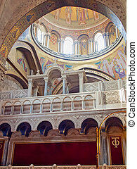 interior of Church of the Holy Sepulchre