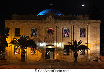 Agios Titos in Heraklion Crete - The Church of St Titus, or...