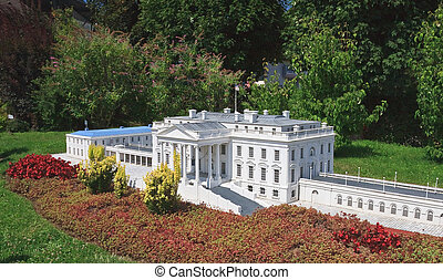 The White House, USA.Klagenfurt. Miniature Park...