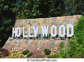 Hollywood Sign Klagenfurt Miniature Park...