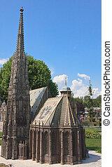 St. Stephen's Cathedral, Vienna. Klagenfurt. Miniature Park...