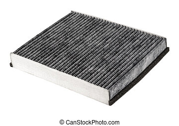 Cabin air filter carbon